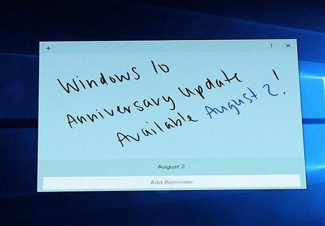 TechnoBlitz.it Windows 10 Anniversary Update