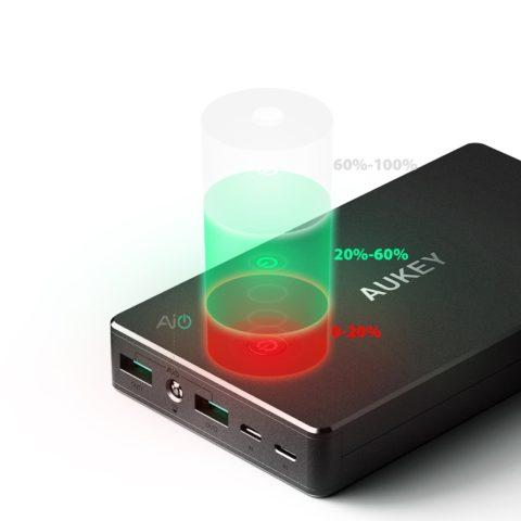 TechnoBlitz.it AUKEY Powerbank 20000mAh  TechnoBlitz.it AUKEY Powerbank 20000mAh  TechnoBlitz.it AUKEY Powerbank 20000mAh