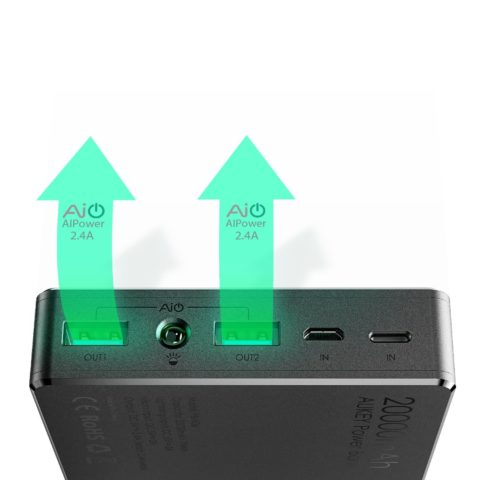 TechnoBlitz.it AUKEY Powerbank 20000mAh  TechnoBlitz.it AUKEY Powerbank 20000mAh