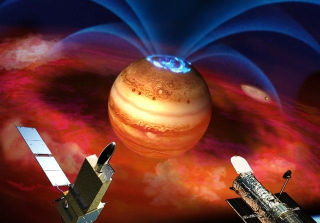 TechnoBlitz.it Hubble invia immagini incantevoli da Giove