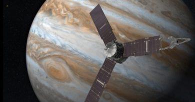 Juno entra nell'orbita del pianeta Giove