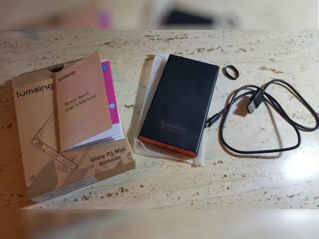 powerbank lumsing