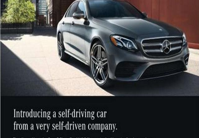 TechnoBlitz.it Nuova Mercedes Classe E: la pubblicità dice che guida da sola ma non è vero
