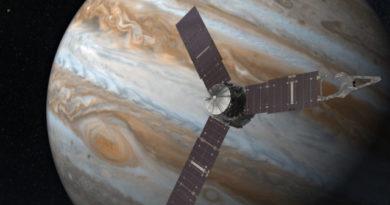 TechnoBlitz.it Juno compie il passo più vicino a Giove