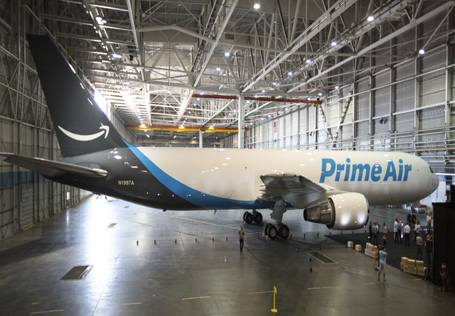 TechnoBlitz.it Amazon Prime Air, la nuova flotta di aerei cargo