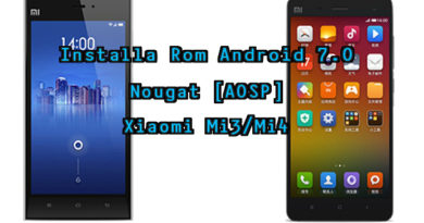 TechnoBlitz.it Installare Android 7 su Xiaomi Mi3 e Mi4