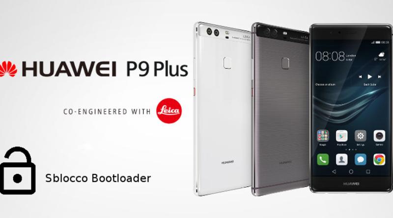 TechnoBlitz.it Huawei P9 Plus: Come sbloccare il bootloader - Guida
