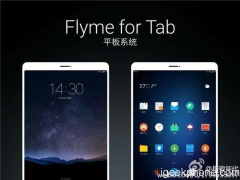 TechnoBlitz.it Meizu annuncia un Tablet ed una TV equipaggiati con la Flyme 5