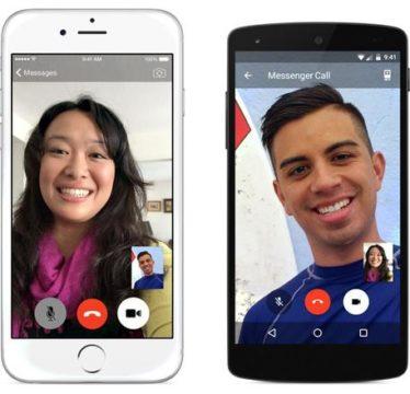 Facebook lancia videochiamate su Messenger - DA PASSARELLA