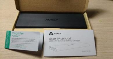 TechnoBlitz.it Recensione Powerbank Aukey PB-N32: il caricatore portatile sottile ed elegante