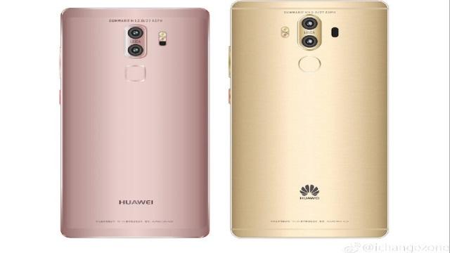 Huawei Mate 9 rivelate due versioni del backside