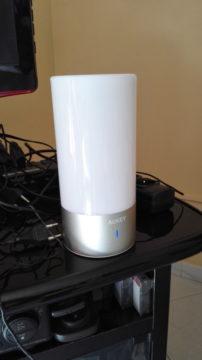 TechnoBlitz.it Recensione Lampada Led Aukey, Touch Multicolore