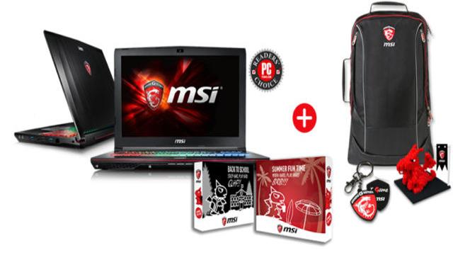 TechnoBlitz.it I notebook MSI GE62VR e GE72VR arrivano in Italia