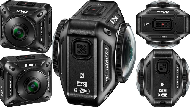 TechnoBlitz.it Nikon lancia la Fotocamera Keymission 360