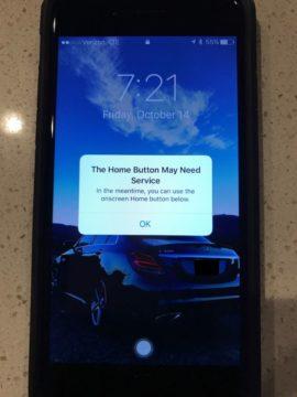 TechnoBlitz.it Il tasto Home del vostro iPhone 7 non funziona più? Ci pensa iOS 10!