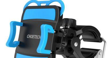 Recensione supporto per smartphone da bici Choetech