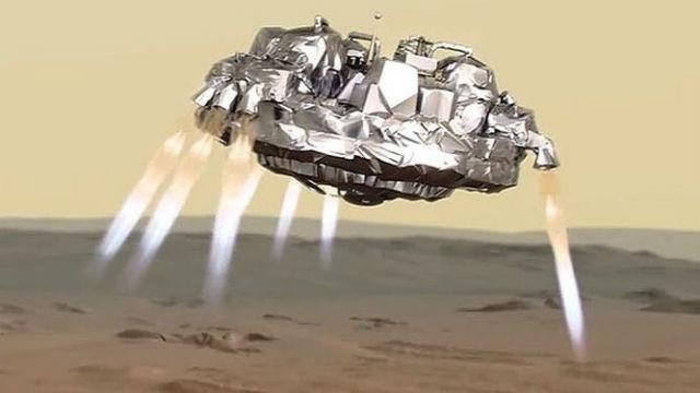 TechnoBlitz.it Cratere su Marte. Quello di Schiaparelli?