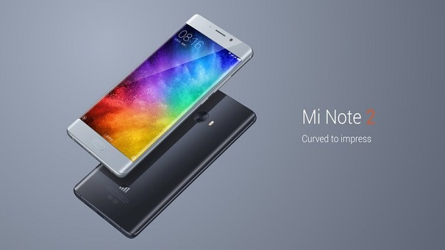 TechnoBlitz.it Xiaomi Mi Note 2 ufficialmente svelato