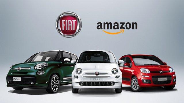 TechnoBlitz.it FCA su Amazon: aperto il primo store online