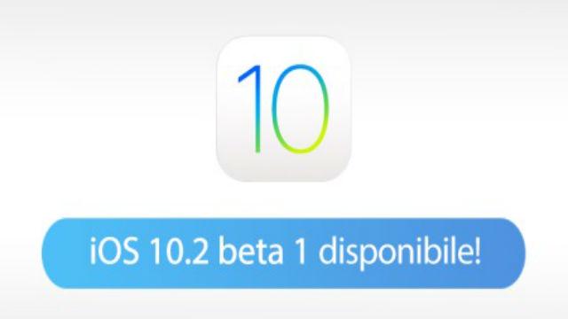 TechnoBlitz.it Disponibile IOS 10.2 Beta 1 di apple: ecco le novità