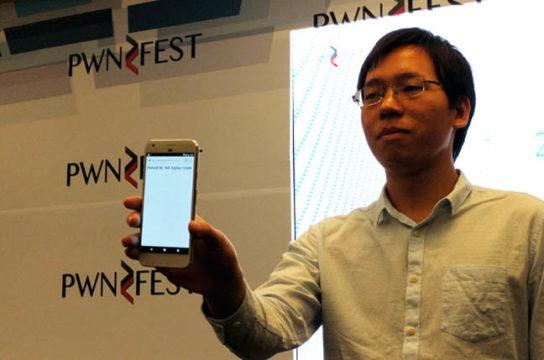TechnoBlitz.it Google Pixel hackerato in 60 secondi al PwnFest 2016