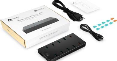 TechnoBlitz.it Recensione AUKEY Caricatore 10 Porte Usb da 70 Watt