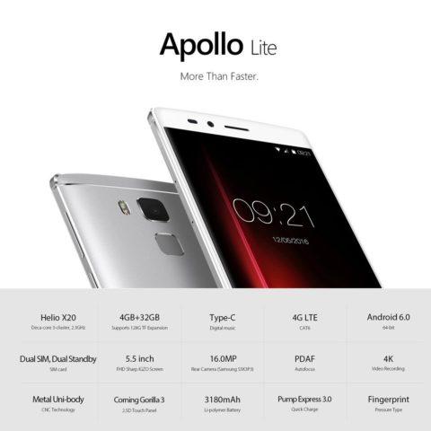 TechnoBlitz.it Vernee Apollo Lite 4G LTE con Codice Sconto