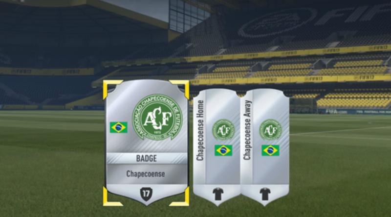 TechnoBlitz.it FIFA 17, in regalo divise e stemma del Chapecoense