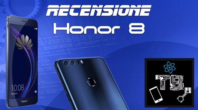 TechnoBlitz.it Recensione di Honor 8