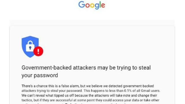 TechnoBlitz.it Google avverte gli utenti che hanno subito un attacco brute force