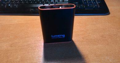 TechnoBlitz.it Lumsing, Recensione PowerBank 13.000 mAh
