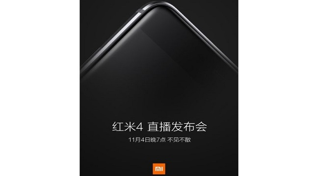 TechnoBlitz.it Xiaomi Redmi 4 arriva il 4 Novembre