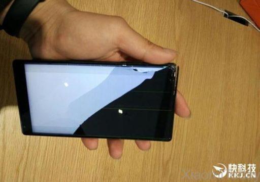 Xiaomi Mi Mix, all'apparenza non molto resistente alle cadute