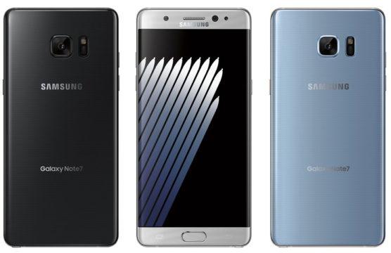 Galaxy Note 7 e 7s
