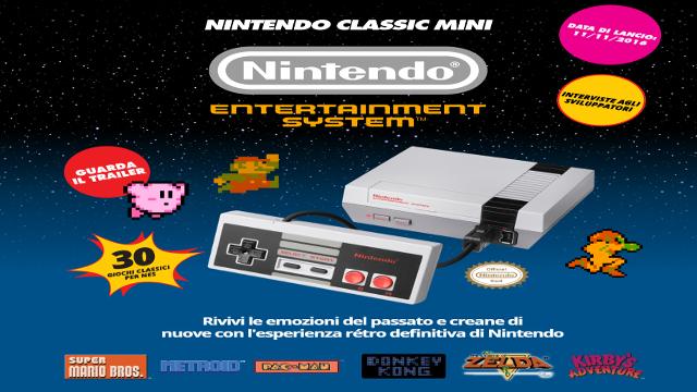 TechnoBlitz.it Tutte le info su Nintendo Mini NES Classic Edition