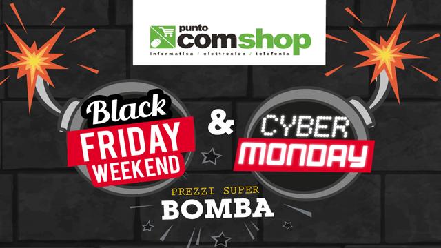 TechnoBlitz.it Puntocomshop, prezzi bomba per Black Friday e Cyber Monday