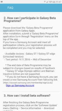 TechnoBlitz.it La beta test di Android Nougat per la gamma Galaxy S7 inizierà il 9 novembre