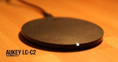 TechnoBlitz.it Aukey LC-C2, il caricatore wireless da 15€ nella nostra recensione