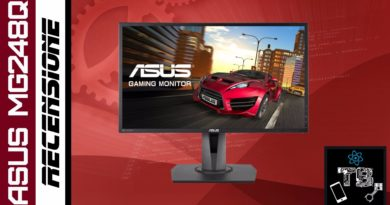 TechnoBlitz.it Asus MG248Q: Recensione display da gaming economico