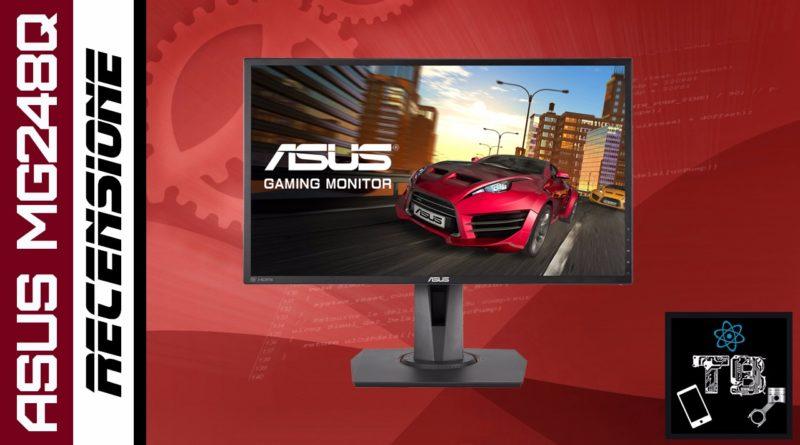 TechnoBlitz.it Asus MG248Q: Recensione display da gaming economico