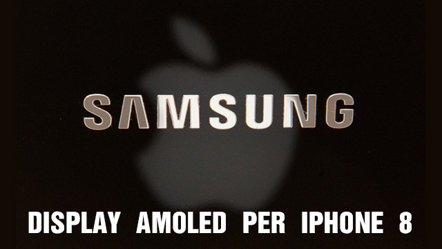 TechnoBlitz.it AMOLED Samsung esclusivi per iPhone a partite dal 2017