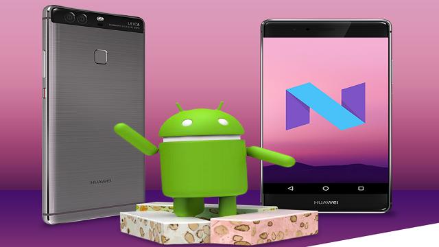TechnoBlitz.it Huawei annuncia ufficialmente Android Nougat per P9 Plus