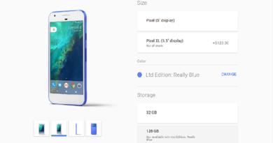 TechnoBlitz.it Google Pixel Really Blue torna sul Google Store