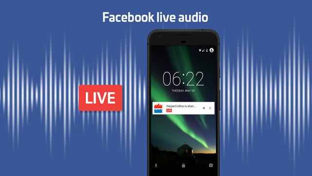 TechnoBlitz.it Arriva Facebook Live Audio, anche le radio diventano social