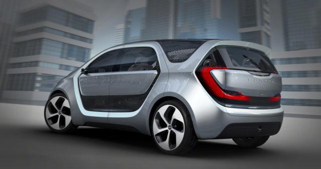 L'estetica del concept Chrysler Portal