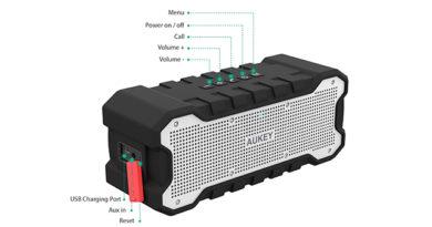 TechnoBlitz.it Aukey SK-M12 recensione speaker wireless bluetooth