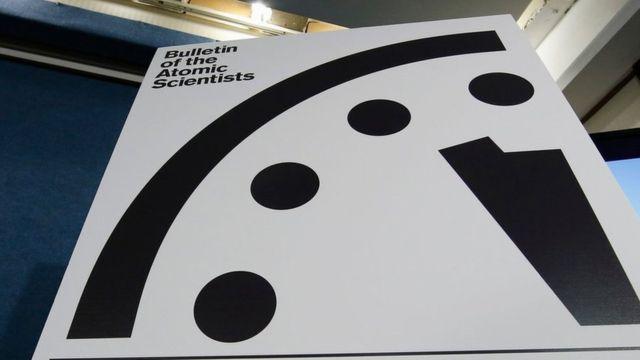 TechnoBlitz.it Doomsday Clock a due minuti e mezzo dall'apocalisse