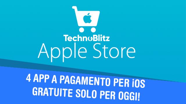 TechnoBlitz.it 4 App per iPhone a pagamento GRATIS solo per OGGI!