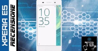 TechnoBlitz.it Sony Xperia E5: la nostra Recensione Completa