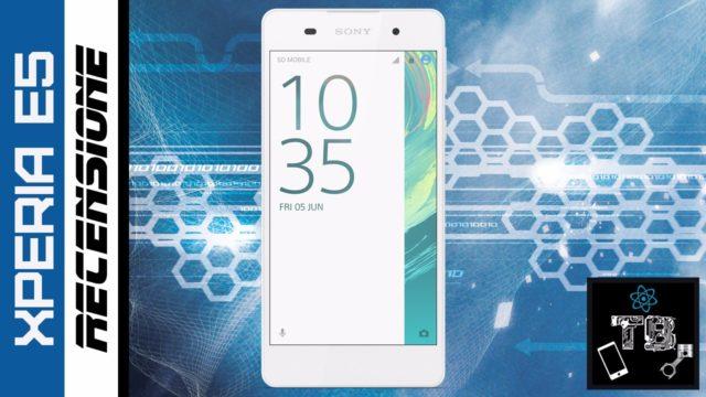 TechnoBlitz.it Sony Xperia E5: la nostra Recensione Completa
